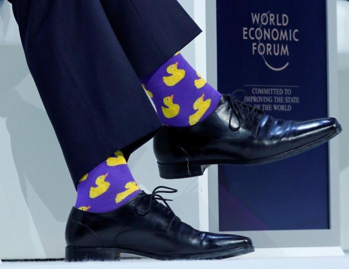 Трюдо у шкарпетках з качечками