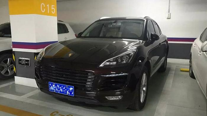 Porsche - китайська копія