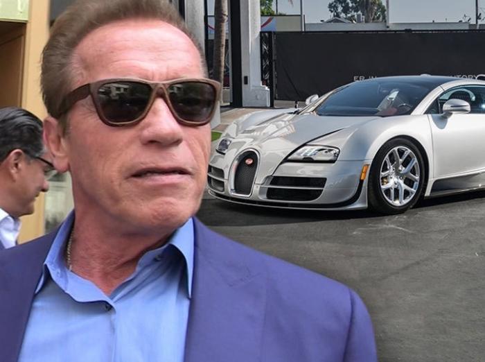 Шварценеггер Bugatti