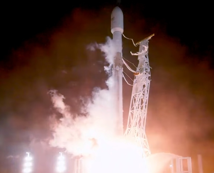 Falcon 9 PAZ satellite