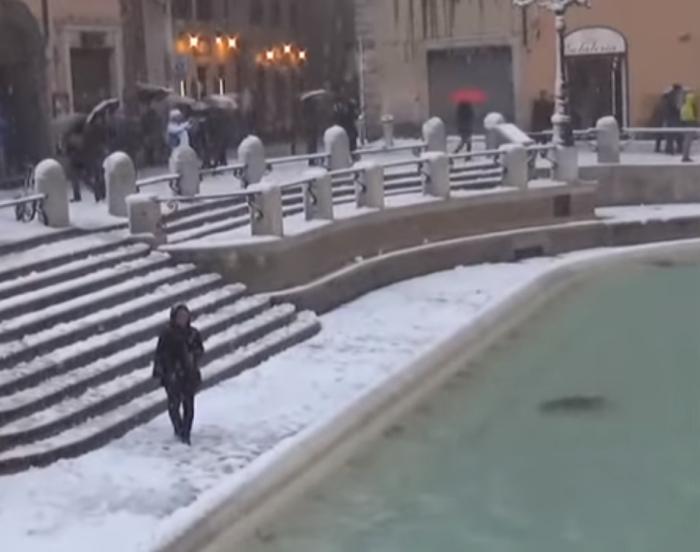 рим сніг