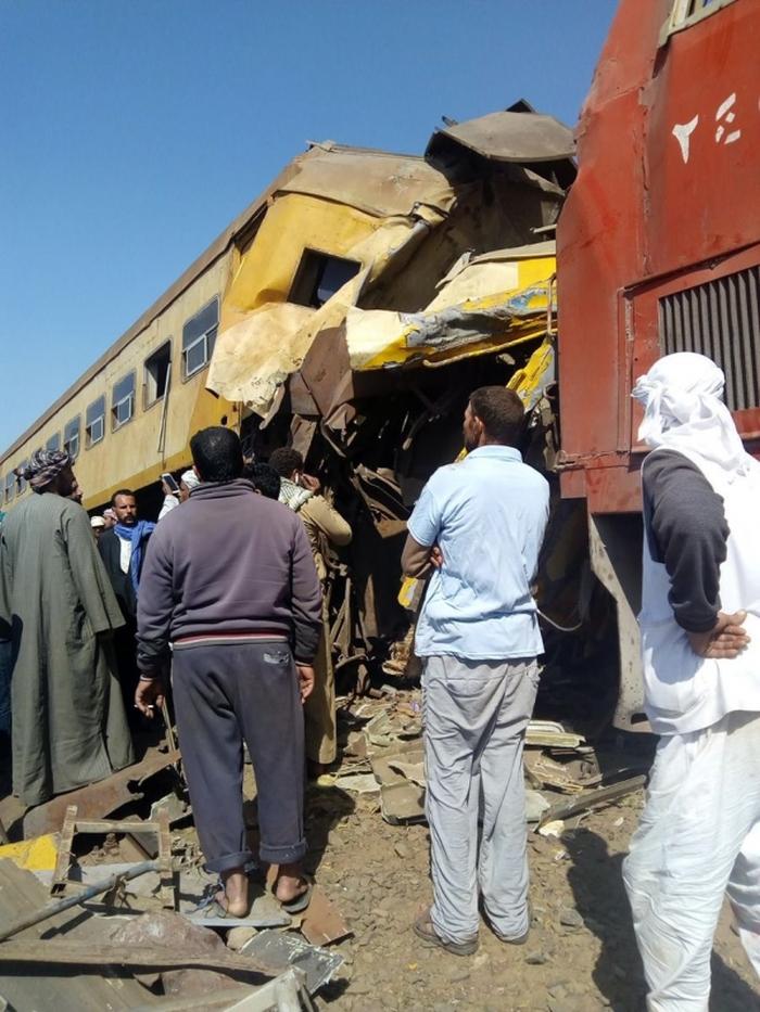 зіштовхнулися потяги Єгипет
