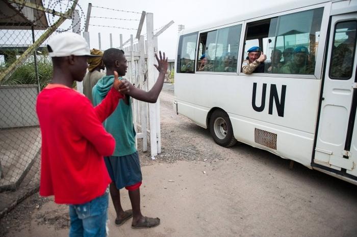 миротворча місія України ліберія