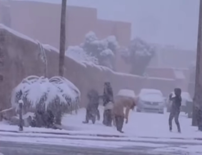 марокко сніг