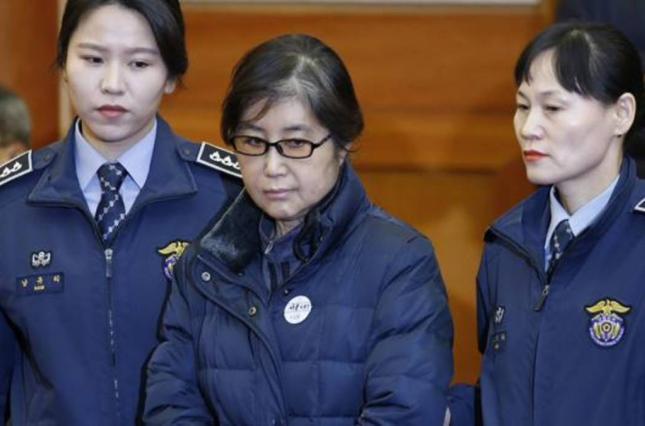 Чхве Сун Сіль, радницю екс-президента Південної Кореї, винною у корупції
