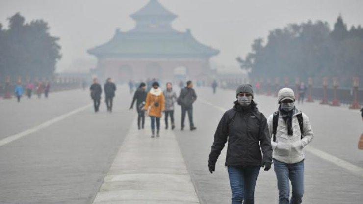 сильний смог у польщі