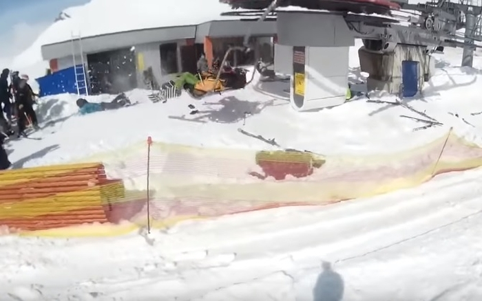 Аварія на курорті в Грузії