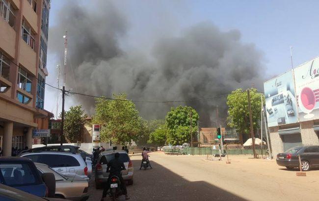 напад на французьке посольство в буркіна-фасо