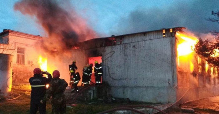 пожежа в наркологічному центрі Баку