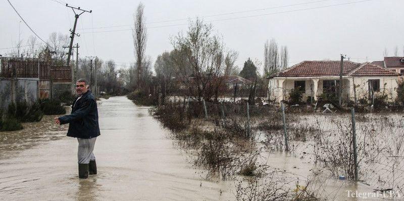албанію затопило
