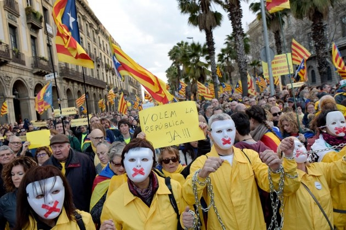 марш за незалежність від Іспанії