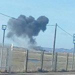 розбився військовий літак