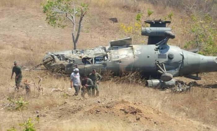 розбився бойовий вертоліт Мі-35 Венесуела