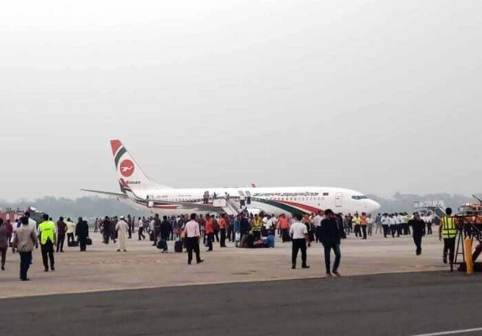 захоплення літака в Бангладеші