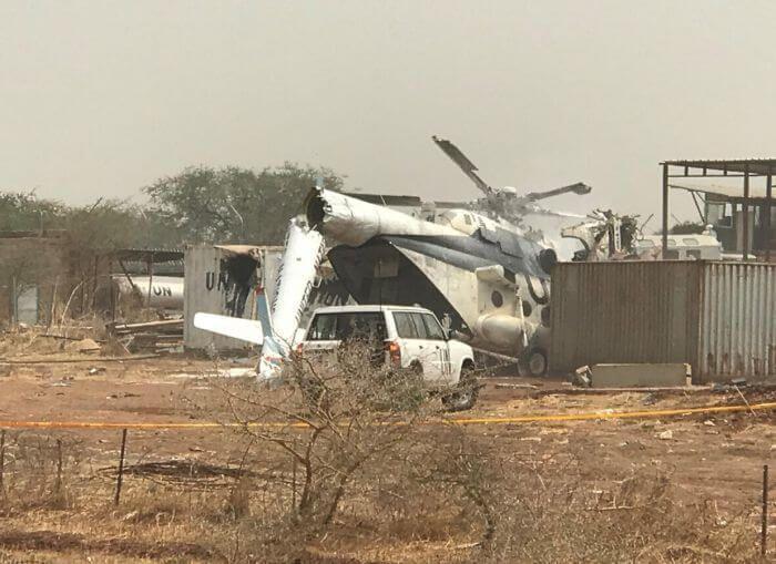 розбився Мі-8 ВПС Ефіопія