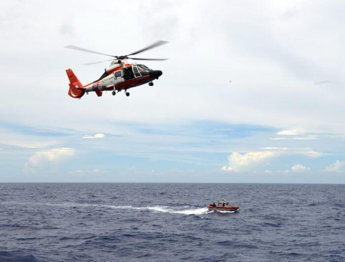пошукова операція на морі