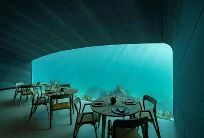 підводний ресторан Under