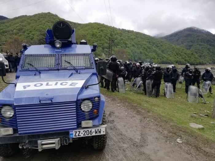 зіткнення спецназу з чеченцями в Грузії