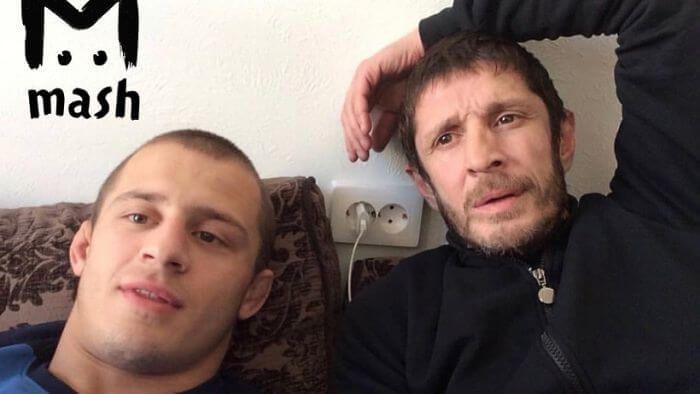 Магомед Юнусілау з батьком