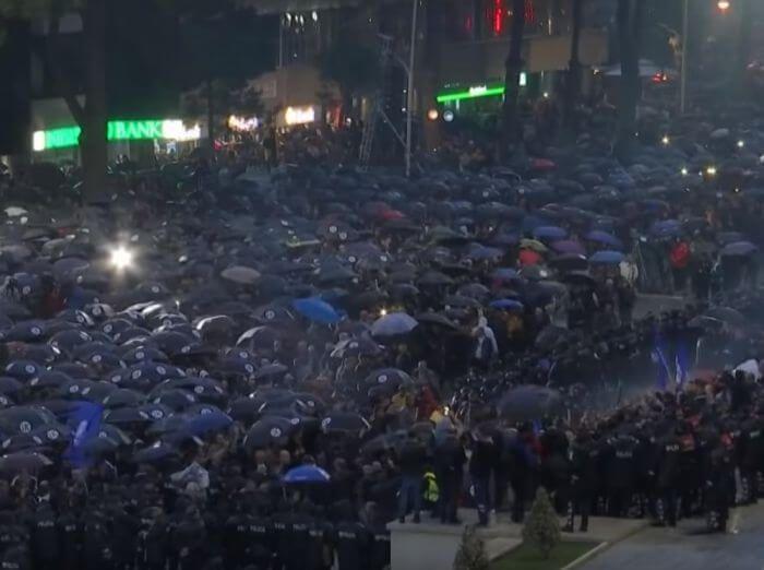 Албанія протести