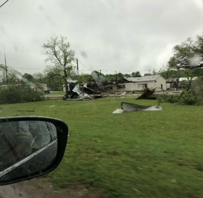 Техас торнадо