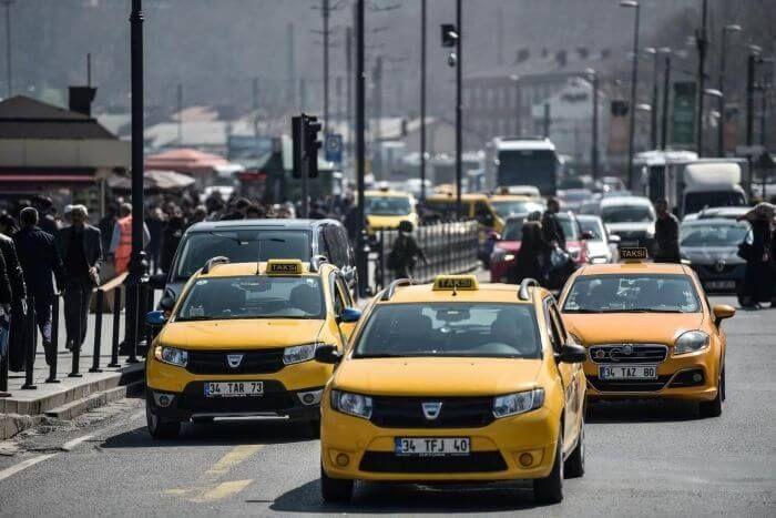 таксі Туреччина