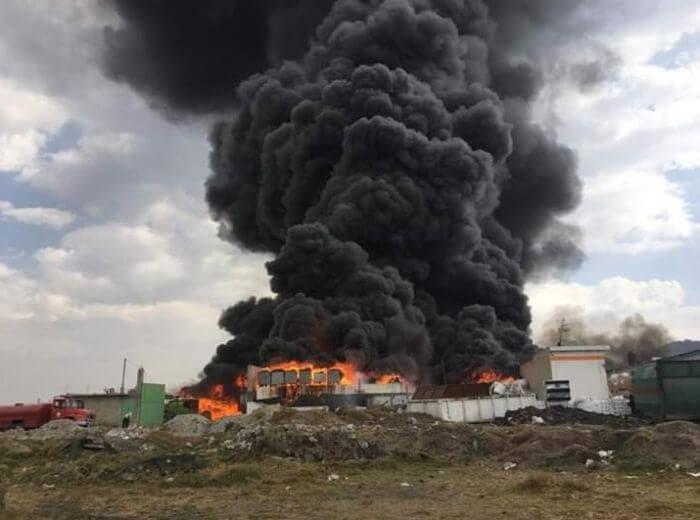 у місті Толука вибух Мексика