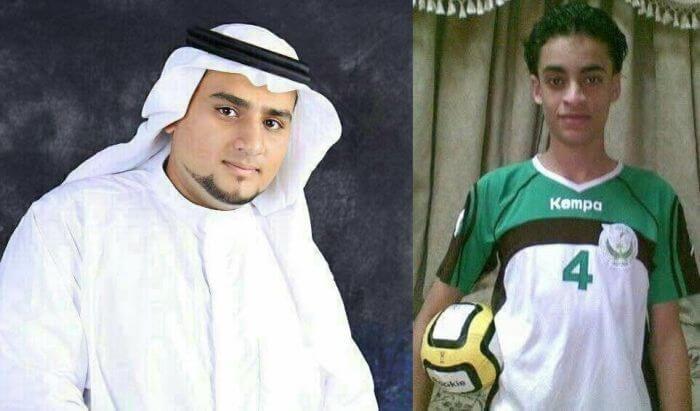 Абдулкарім Аль-Хавадж (ліворуч) і Муджтаба аль-Свейкат (праворуч)