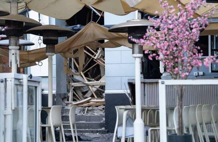 вибух в ресторані Мальме