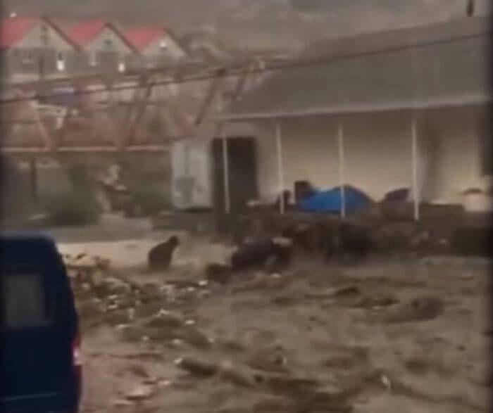 селевий потік Дегестан