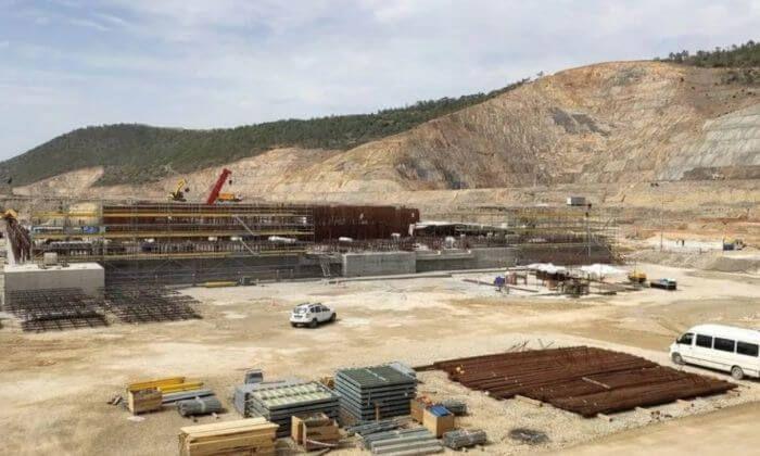 будівництво АЕС Аккую