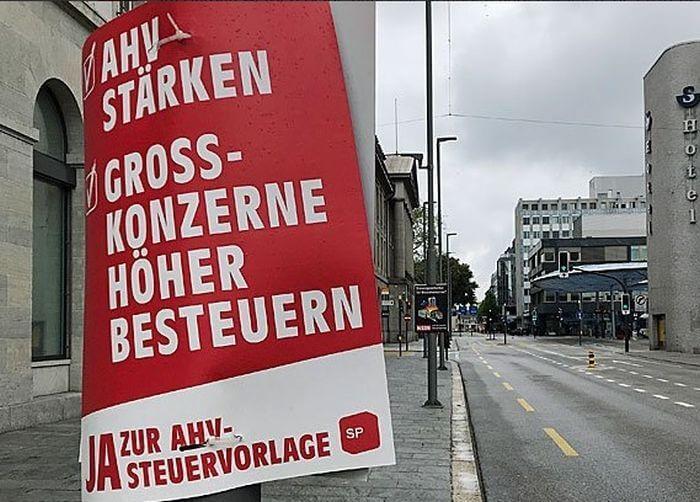 референдум зброя Швейцарія