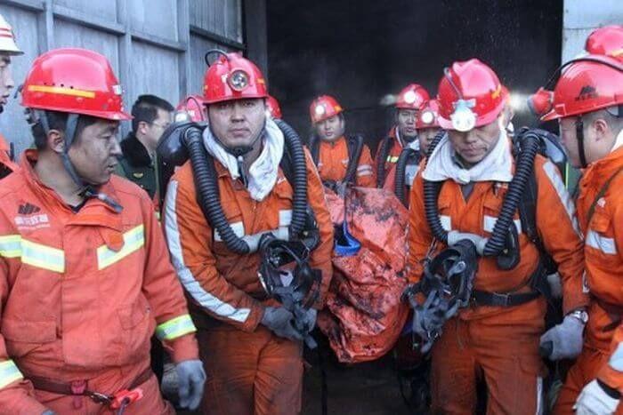 шахта китай