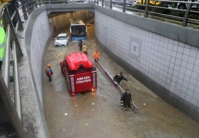 затопило Анкару