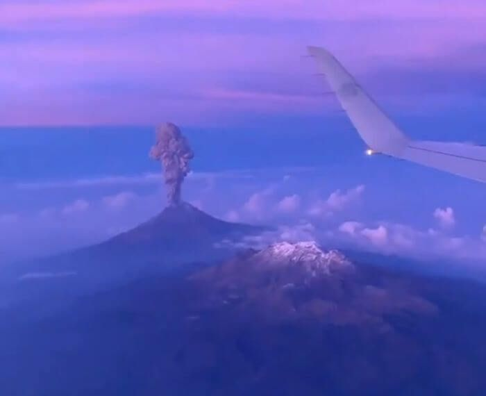 виверження вулкана Попокатепетль