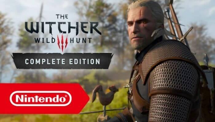 відьмак 3 Nintendo Switch