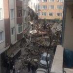 впала будівля