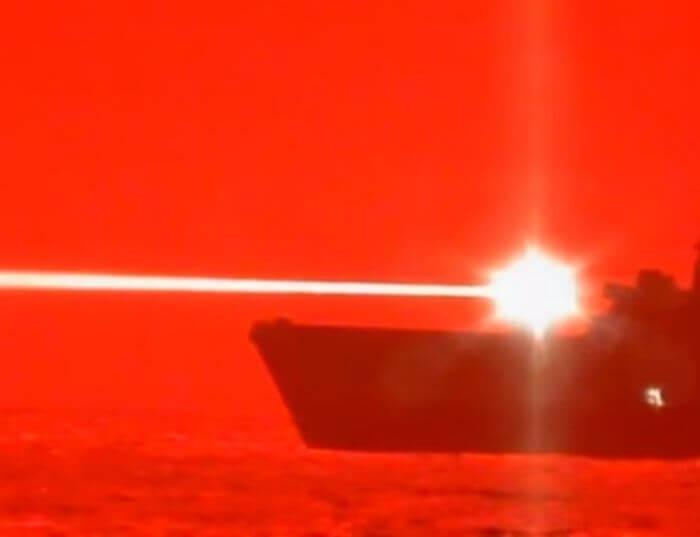 випробування бойового лазера